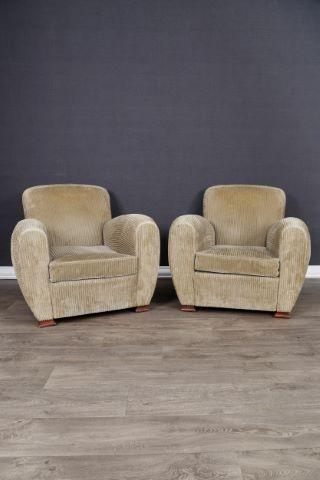 2 fauteuils club