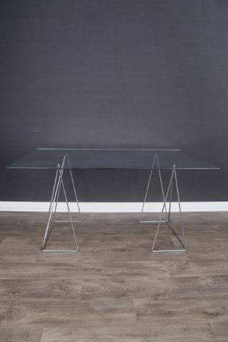 Table transformable à hauteur double