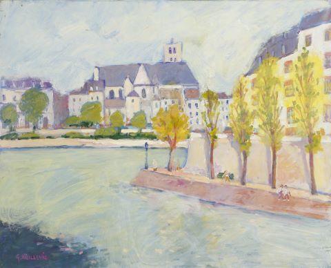 La Seine près de la Cité