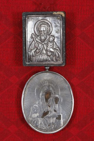 Vierge de Kazan et Saint Stylianis