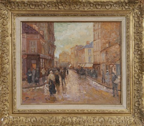 Rue de Gergovie, Paris