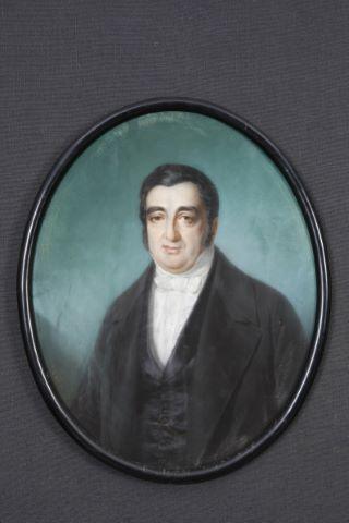 Portrait d'homme à la cravate blanche