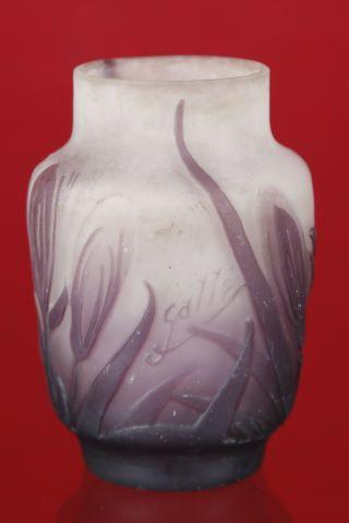 Vase tronçonique à col resserré