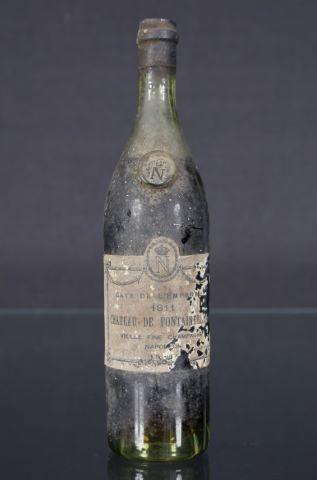 Bouteille de vieille fine Champagne Napoléon