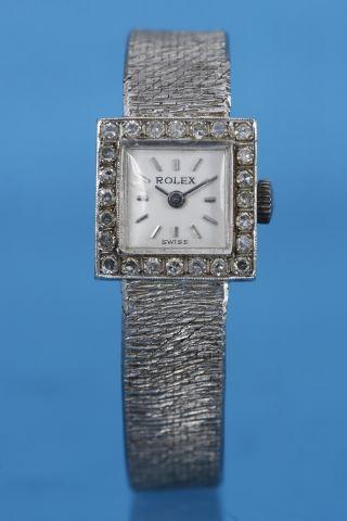 Montre bracelet de femme Art Déco