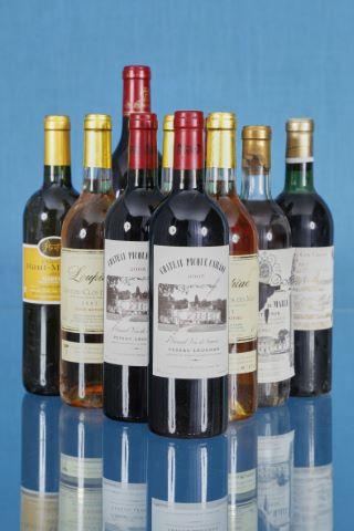 6 bouteilles en caisse bois d'origine + 14 bouteilles + 1 magnum