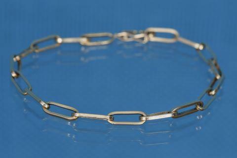Bracelet mailles type forçat