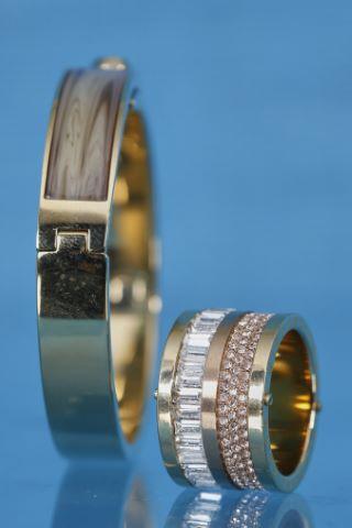 1 bracelet + 1 bague jonc