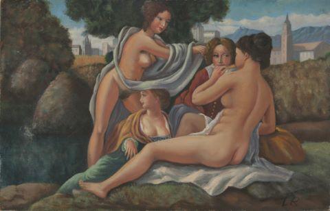 Études de nus féminins [9 œuvres]