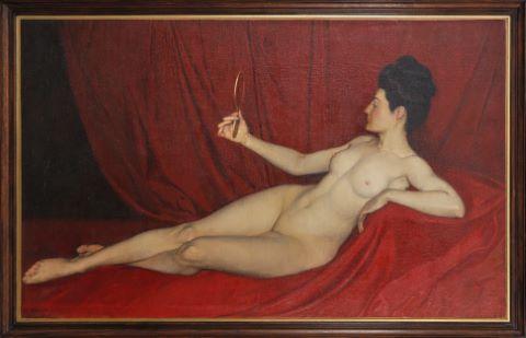 Femme nue allongée