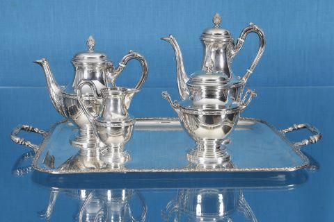 Service à thé et café de style Louis XVI