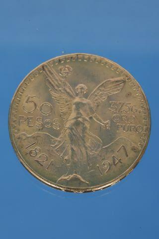 50 pesos (1821-1947)