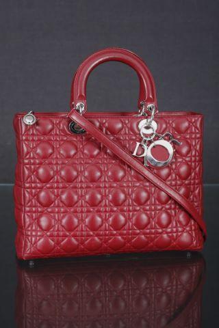 Sac à main, modèle Lady Dior