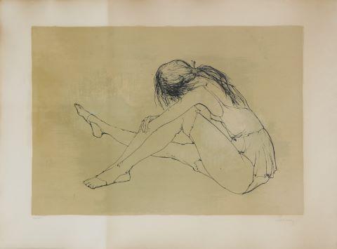Jeune fille posant