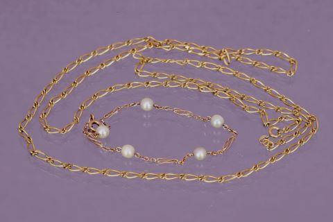 Chaîne et bracelet