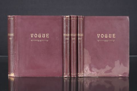 4 volumes de magazines reliés
