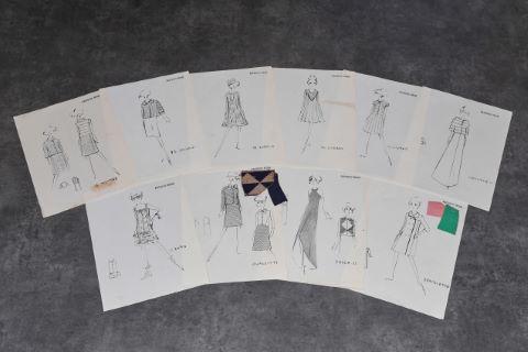 "[Mode] 10 dessins - Collection ""Haute couture"""