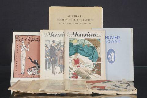 Ensemble de magazines des années 1920-30