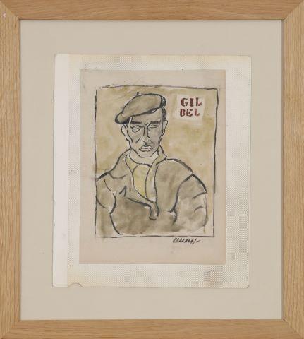 Portrait d'homme, Gil Bel