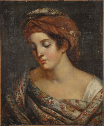 Jeune femme au turban