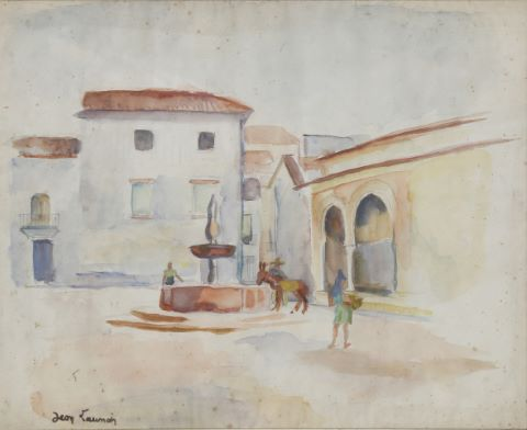 A la fontaine