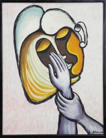 Portrait de femme dans le goût de Pablo Picasso