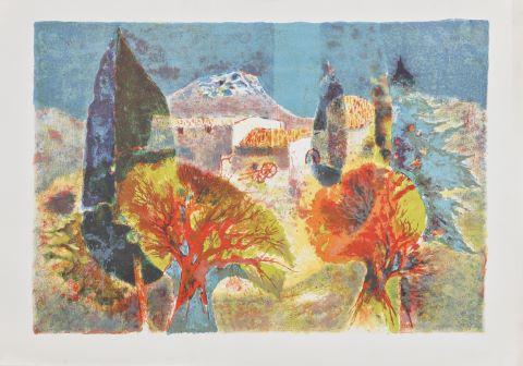 Paysages [9 estampes]