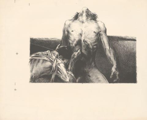 Nus masculins [10 estampes]