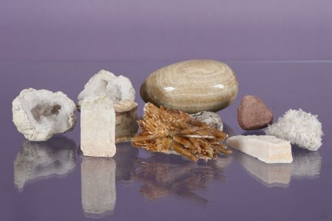 9 pierres et minéraux