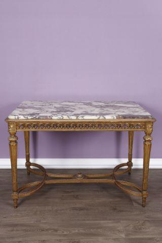 Table de milieu de style Louis XVI
