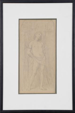 Saint Sébastien au tronc d'arbre