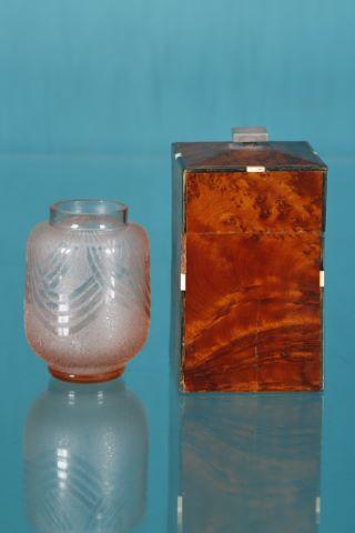 Vase + boîte à cigare