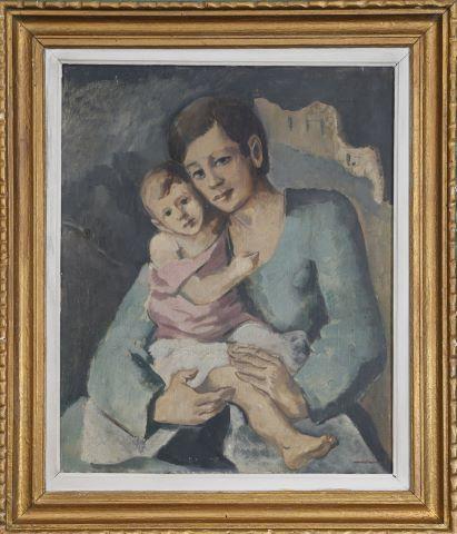 Femme à l'enfant