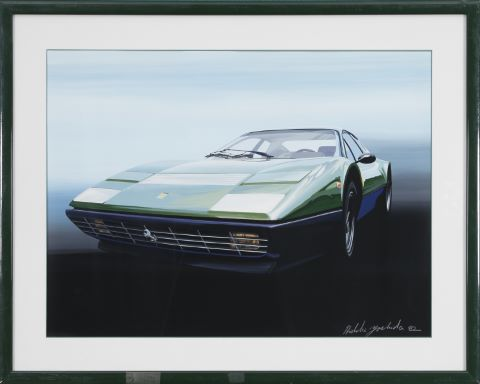 Automobilia - Ferrari 512 BB (Berlinetta Boxer)