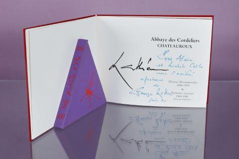 """Catalogue de l'exposition """"Mathieu"""" à l'Abbaye des Cordeliers de Châteauroux"""
