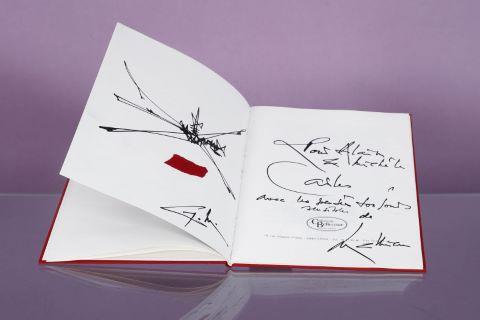 """Catalogue de l'exposition """"Georges Mathieu"""" à la Galerie de Bellecour à Lyon"""
