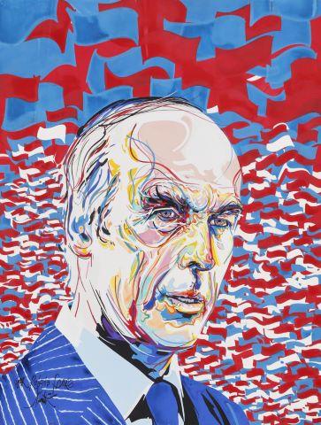 Portrait de Valéry Giscard d'Estaing