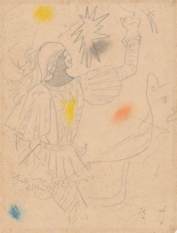 La Dame à la Licorne, le Chevalier