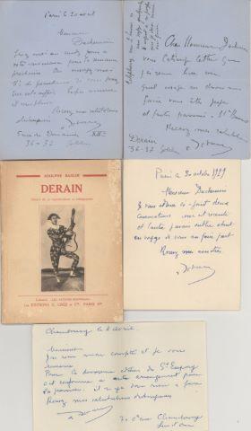 4 LAS à Monsieur Duchemin + un livre avec envoi