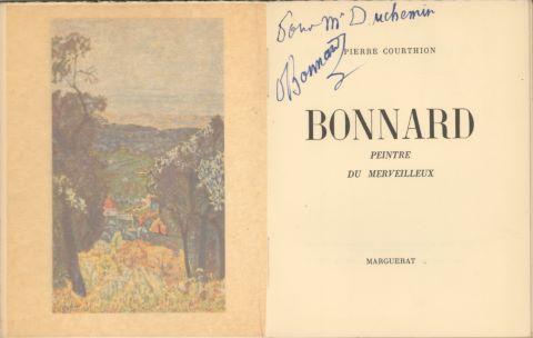 Bonnard, peintre du merveilleux par Pierre Courthion