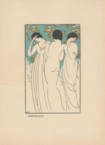 18 illustrations décoratives pour Les Fleurs du mal de Charles Baudelaire