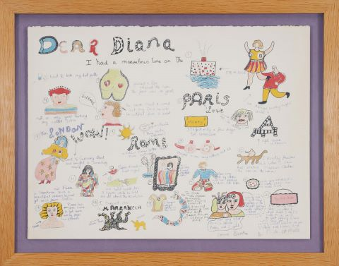 Dear Diana I had a marvelous time