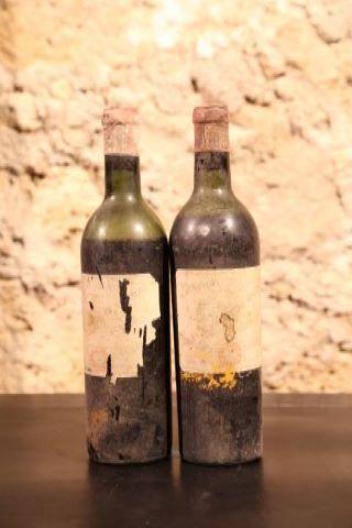 2 bouteilles non millésimées