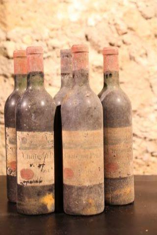 5 bouteilles 1964