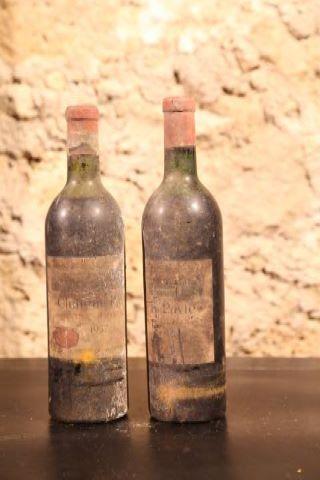 2 bouteilles 1957
