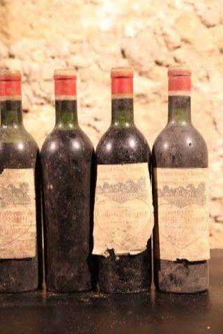 4 bouteilles 1966