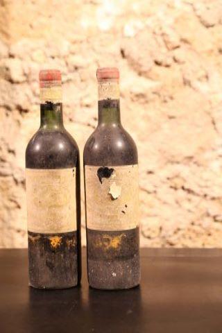 2 bouteilles 1959