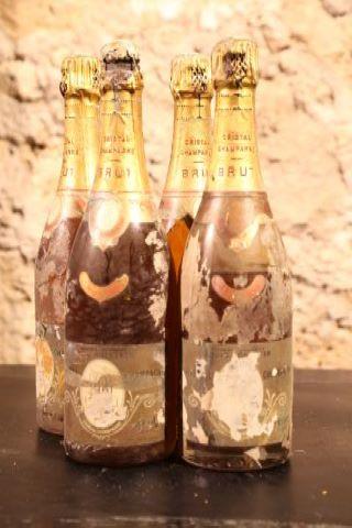 1 bouteille de 1961, 3 bouteilles de 1962