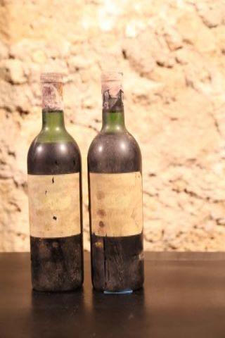 2 bouteilles dont 1 1970
