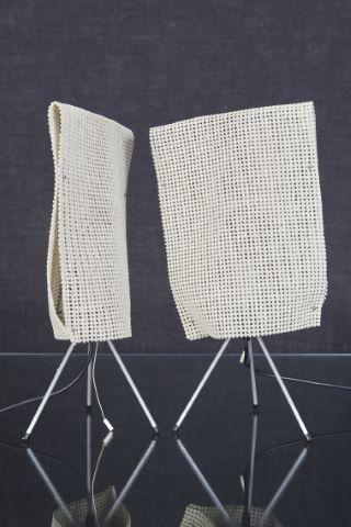 Paire de lampes de tables, modèle Estela